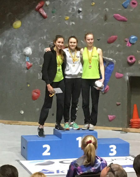 Podium Junior filles